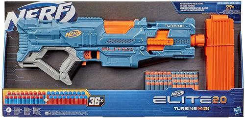 HASBRO GIOCATTOLI ARMI E TRAVESTIMENTI NERF ELITE 2.0 TURBINE CS 18 NEW