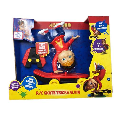 FISHER PRICE GIOCATTOLI PERSONAGGI ALVIN SUPER STAR PERS. IN SKATE RADIOC.