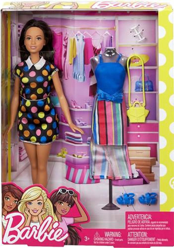 MATTEL BAMBOLE BAMBOLE BARBIE FASHION DOLL ASS. FFF58