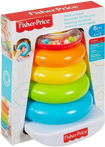 FISHER PRICE PRIMA INFANZIA PRIMI GIOCHI PIRAMIDE CON ANELLI FISHER PRICE FHC92