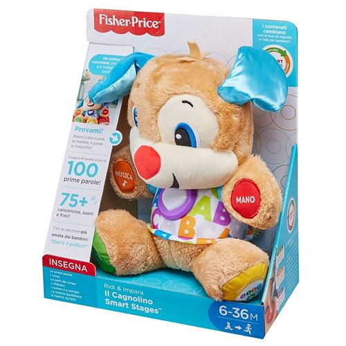 FISHER PRICE PRIMA INFANZIA PRIMI GIOCHI IL CAGNOLINO RIDI&IMPARA FISHER PRICE