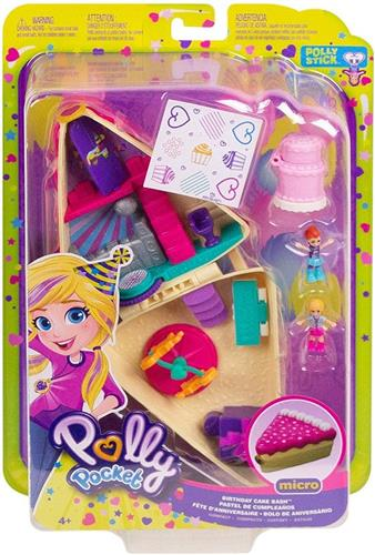 MATTEL BAMBOLE ACCESSORI PER BAMBOLE POLLY POCKET PLAYSET TASCABILE ASS.