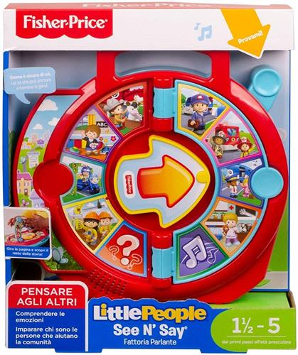 FISHER PRICE PRIMA INFANZIA PRIMI GIOCHI FISHER PRICE LITTLE PEOPLE FATTORIA PARLANTE