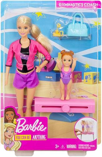 MATTEL BAMBOLE BAMBOLE BARBIE YOU CAN BE SPORT PLAYSET ASS.