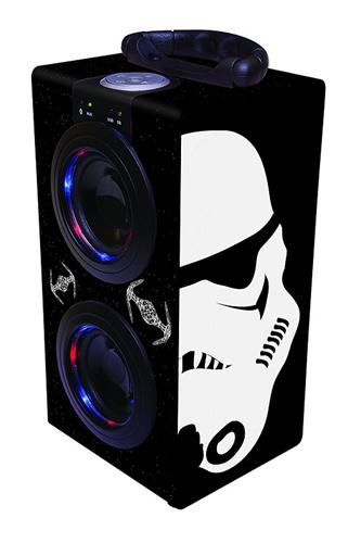 GIOCHERIA ELETTRONICA CASSA STEREO STAR WARS  BLUETHOOTH TOWER LEXIBOOK