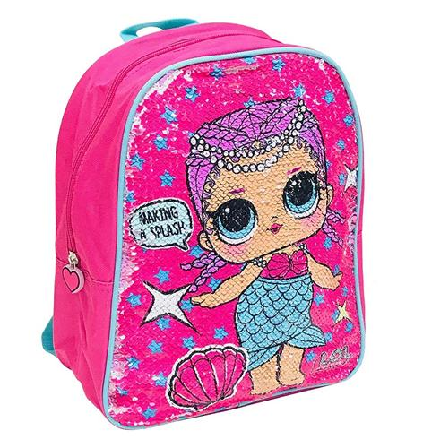 MGA ENTERTAINMENT SCOLASTICA ZAINI SCOLASTICI LOL SURPRISE ZAINO ASILO GIRABRILLA