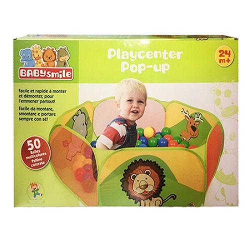 GIOCHERIA GIOCATTOLI GIOCHI DA CAMERA  PLAY CENTER POP-UP BABY SMILE