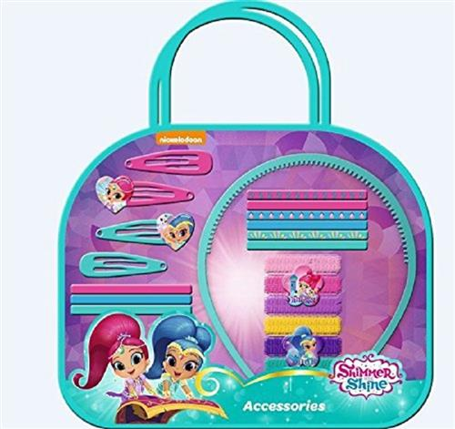 OLD TOYS GIOCATTOLI ACCESSORI DI BELLEZZA SHIMMER&SHINE BORSETTA ACCESSORI CAPELLI