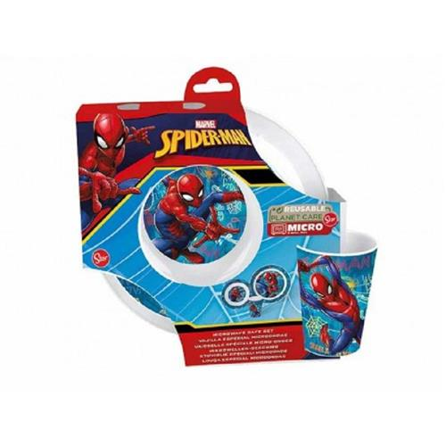 REAL TRADE ITALIA SRLS SCOLASTICA SET PAPPA SPIDERMAN SET PAPPA 3PZ REAL TRADE ST09450