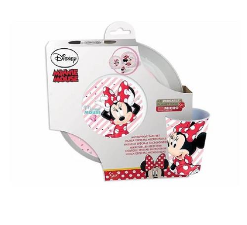 REAL TRADE ITALIA SRLS SCOLASTICA SET PAPPA MINNIE SET PAPPA 3 PEZZI REAL TRADE