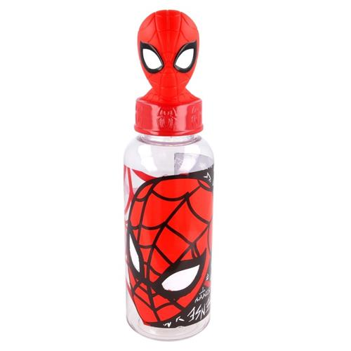 REAL TRADE ITALIA SRLS SCOLASTICA SET PAPPA SPIDERMAN BORRACCIA TRITAN 3D 560 ML REAL T.