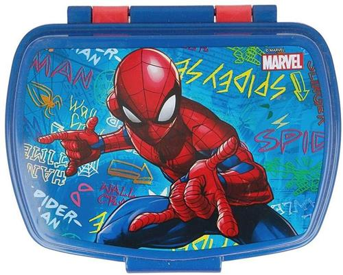 REAL TRADE ITALIA SRLS SCOLASTICA SET PAPPA SPIDER MAN PORTAMERENDA REAL TRADE ST51374