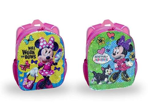 TOYBAGS ACCESSORI  BORSE MINNIE ZAINO ASILO GIRABRILLA 2IN1