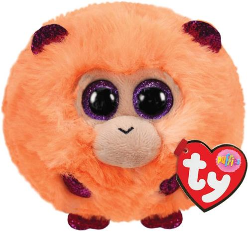 TY PELUCHE ANIMALI TY PUFFIES COCONUT T42514 PELUCHE TONDO