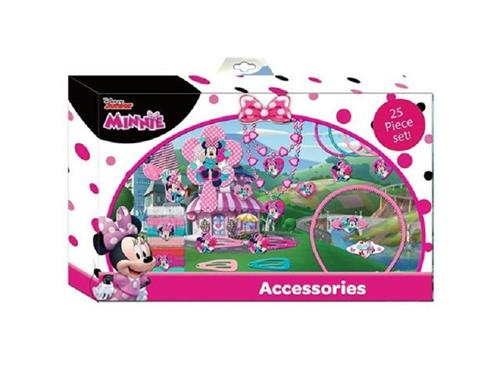 KIDS ACCESSORI  ACCESSORI DI BELLEZZA MINNIE SET 25 ACCESSORI CAPELLI KIDS