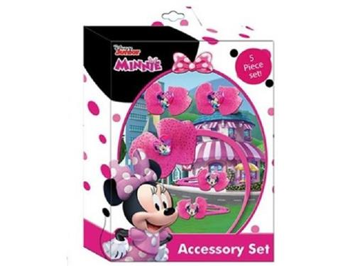 OLD TOYS ACCESSORI  ACCESSORI DI BELLEZZA MINNIE SET ACCESSORI PER CAPELLI 5 PEZZI OLD TOYS