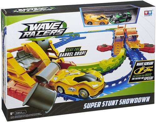 ALPHA GROUP GIOCATTOLI PISTE AUTO E TRENI WAVE RACERS PISTA SUPER STUNT SHOWDOWN X5953